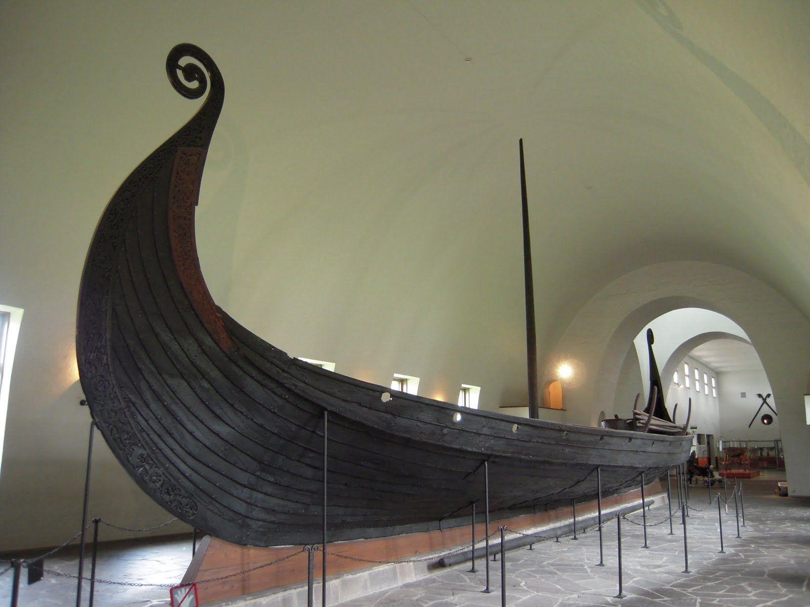 Gokstad Ship At The Viking Ship Museum In Oslo Norway Viking Life Viking Ship Scandinavian Cruises