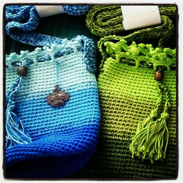 Bandoleras crochet puro color