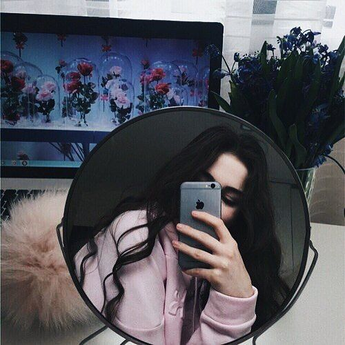 tumblr selfie celular espejo yo pinterest