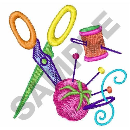 SEWING TOOLS Embroidery Design | cac | Sewing machine