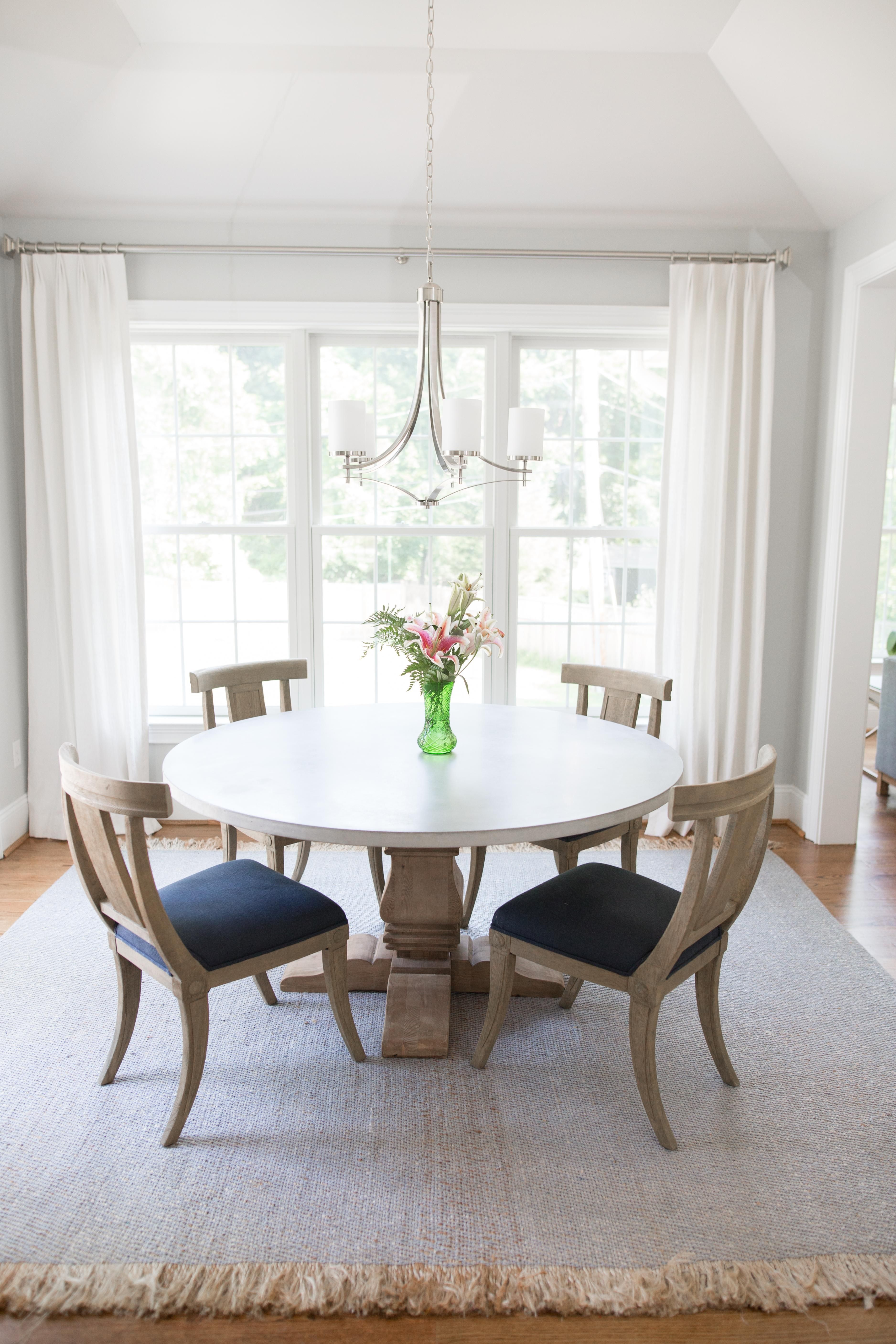 Dining room window coverings  main line window treatments  home  pinterest  urban loft window