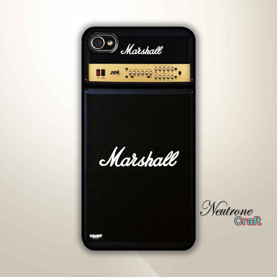 Iphone 4s Hard Case Guitar Amp Marshall iPhone by NeutroneCraft, $15.00