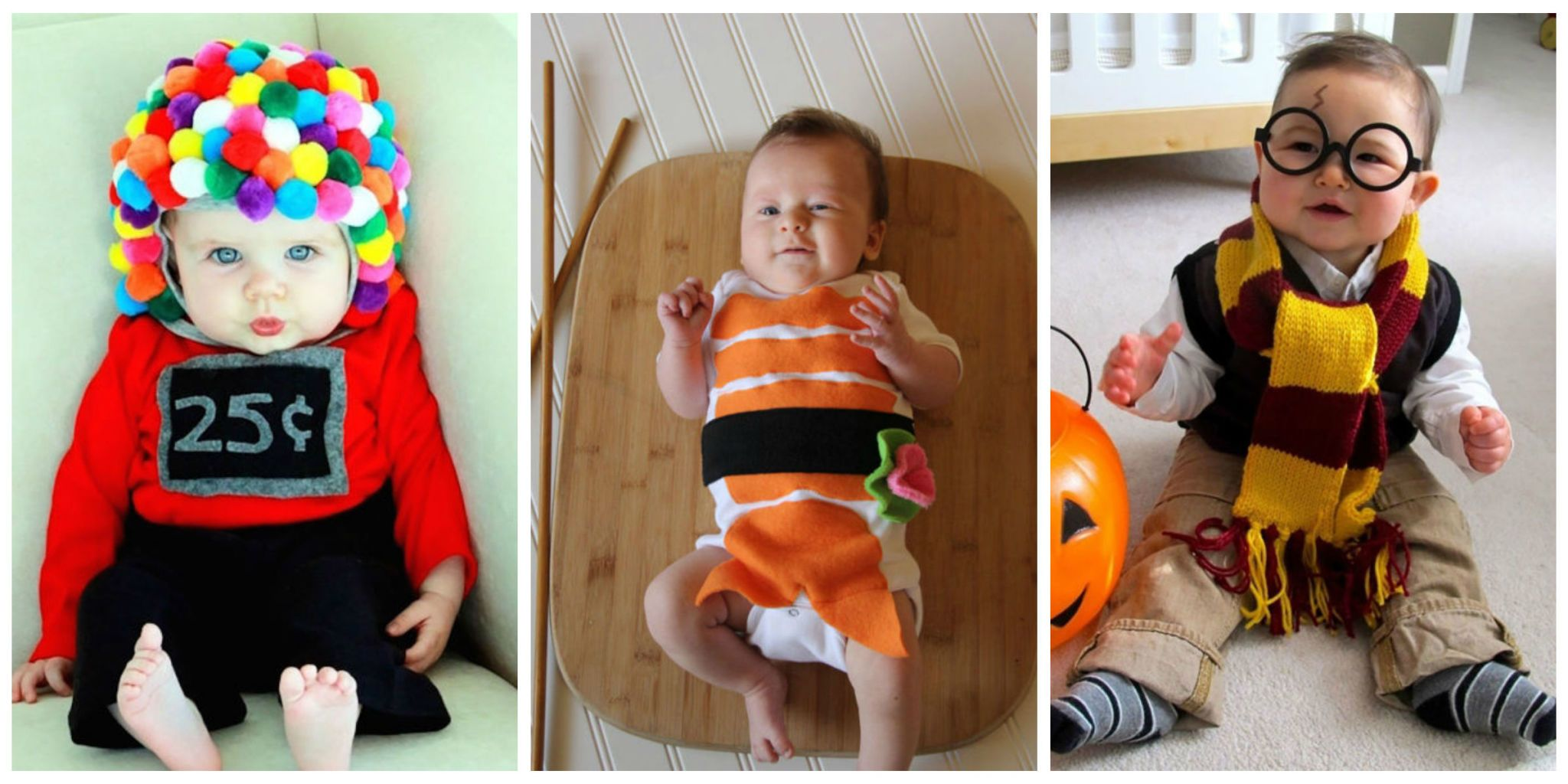 11 Adorable DIY Infant Halloween Costumes  sc 1 st  Pinterest & Totally Adorable DIY Infant Halloween Costumes | Infant halloween ...