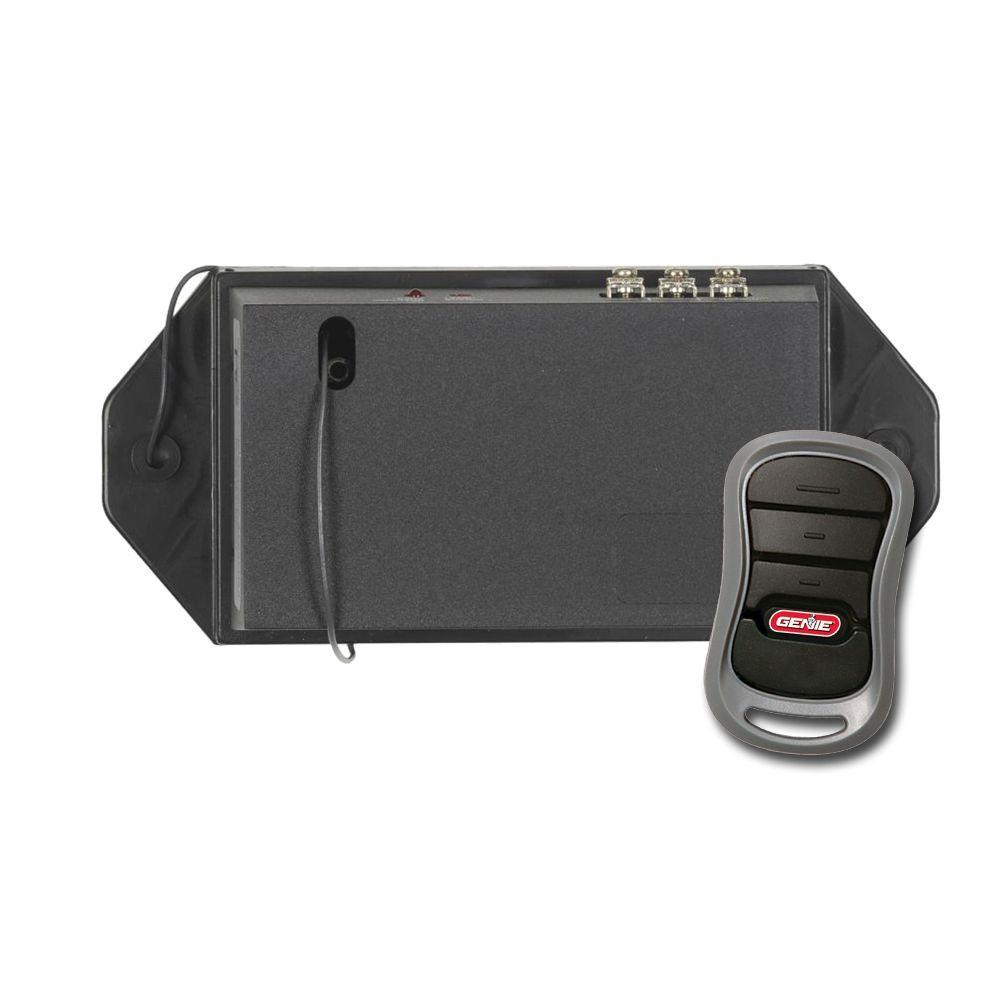 Genie Universal Garage Door Opener Remote Upgrade Kit Add Modern Intellicode Security To Your Old Garage Door Opener Garage Door Opener Remote Garage Door Remote Garage Door Opener