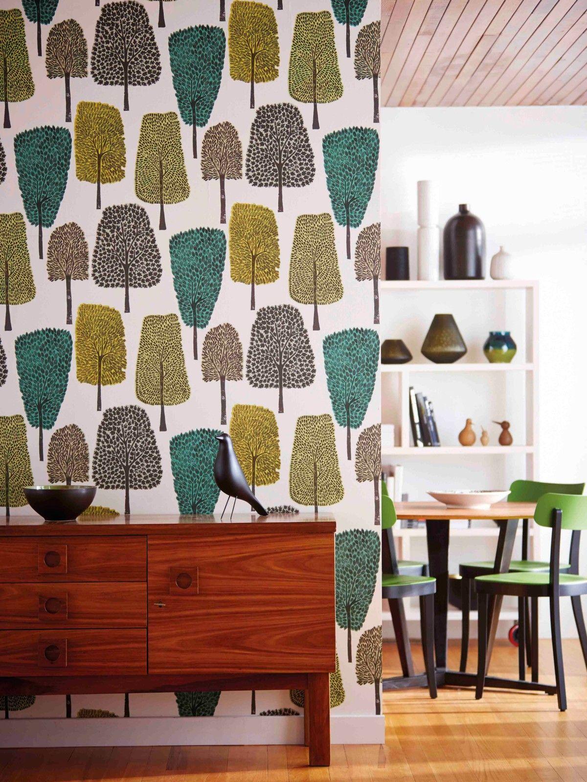 Buy Scion Cedar Wallpaper line at johnlewis