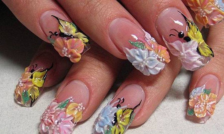 3d Nail Art Design Ideas Hession Hairdressing