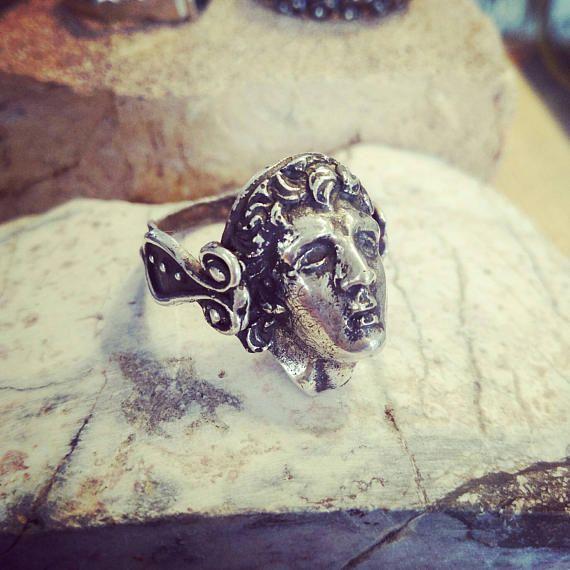 Guarda questo articolo nel mio negozio Etsy https://www.etsy.com/it/listing/515232214/silver-ring-hand-made-man-ring-woman