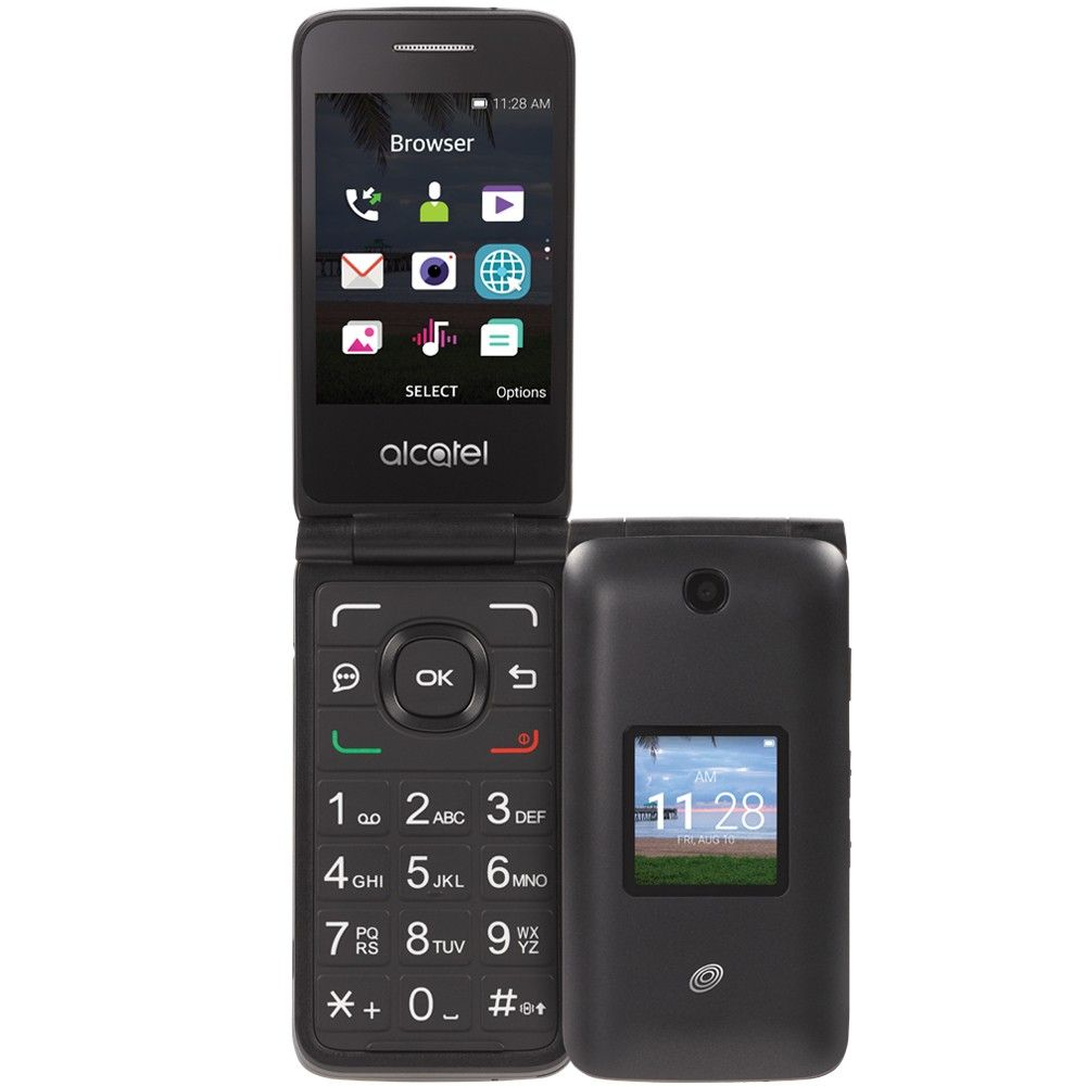 The Tracfone Alcatel Myflip is more than just a basic phone  It