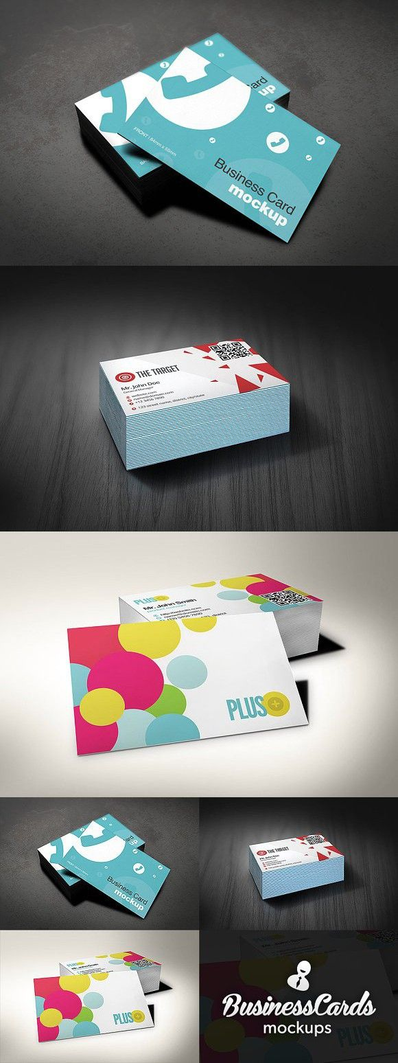 European Size Business Cards Mockups | Mockup, Business cards and ...