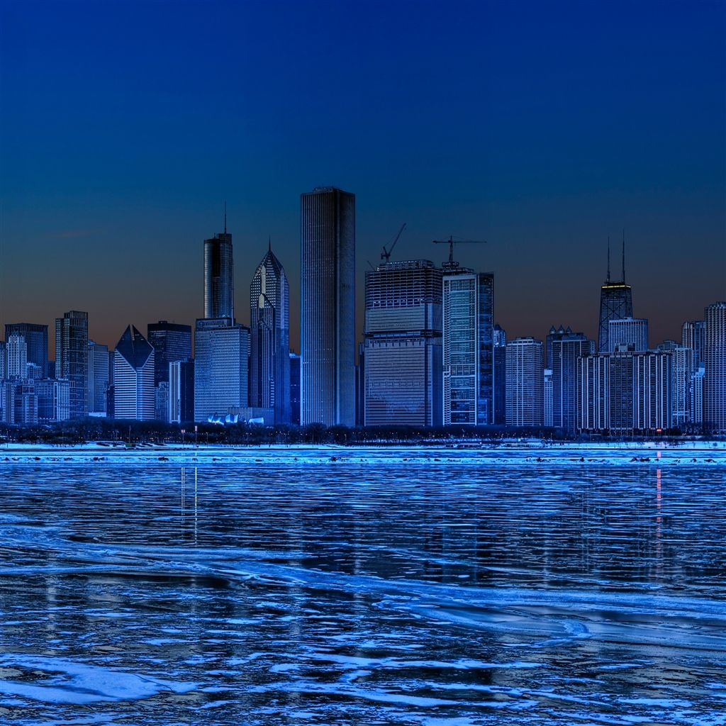 Chicago skyline iPad Air Wallpapers Ipad air wallpaper