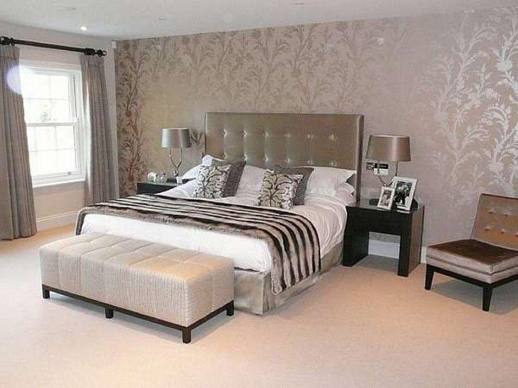 Image Result For Bedroom Wallpaper Ideas Bedroom Interior Master Bedrooms Decor Luxurious Bedrooms Bedroom wallpaper decor ideas