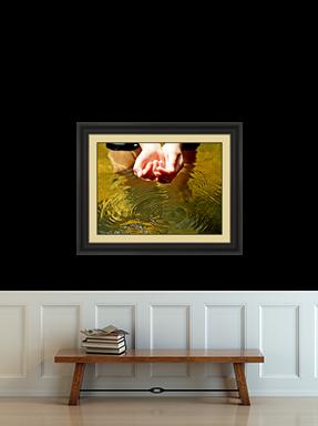 'The Minnow' Framed Art