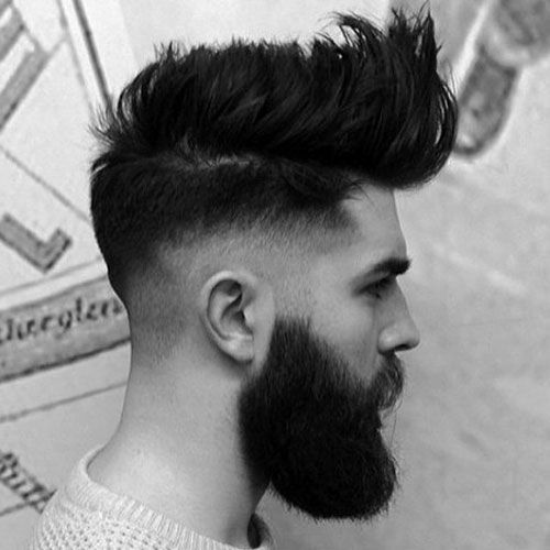 25 Best Pompadour Hairstyles Haircuts For Men 2020 Guide Faded Hair Pompadour Hairstyle Hair And Beard Styles