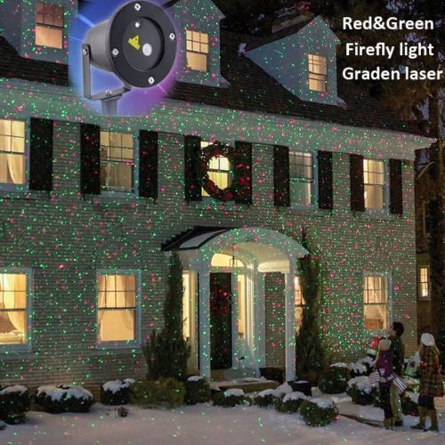 Christmas Light Show Projector Holiday Outdoor Led Laser Home Xmas