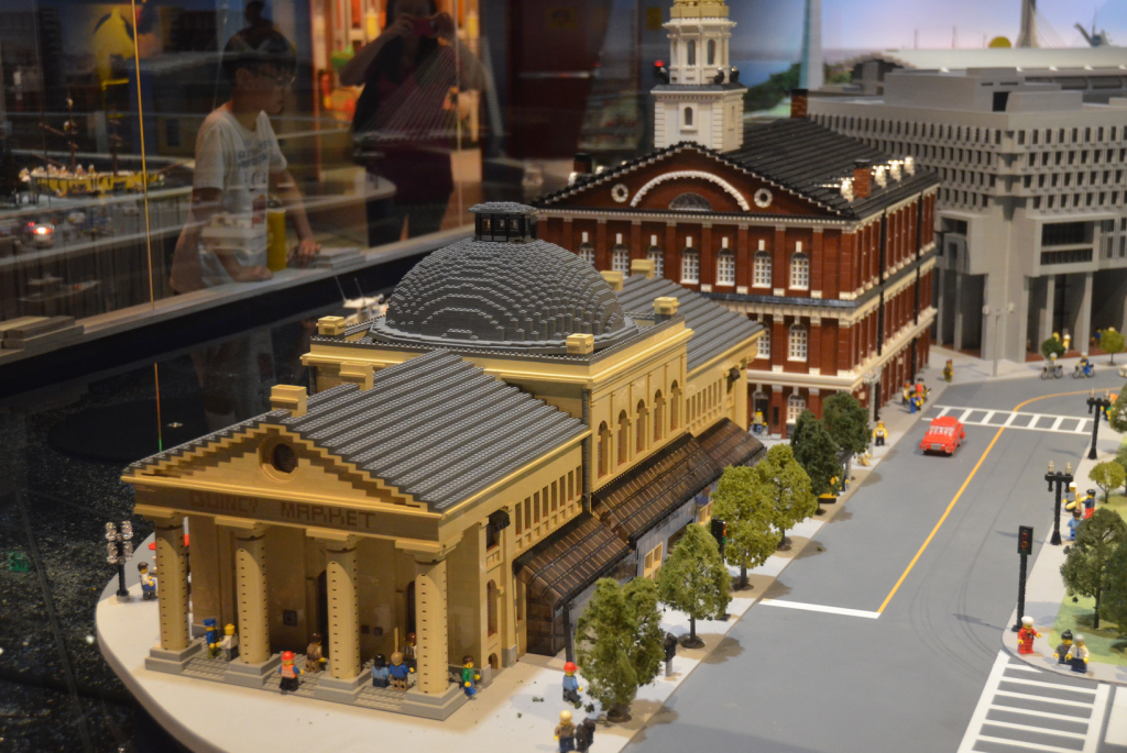 Faneuill Hall and Quincy Market in Boston, Massachusetts. Lego MOC ...