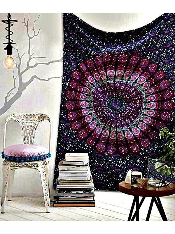 The Kylie Bohemian Mandala Wall Tapestry Bedroom Bohemian