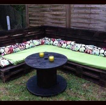 Pallets Garden Lounge / Salon De Jardin En Palettes Europe | Porch