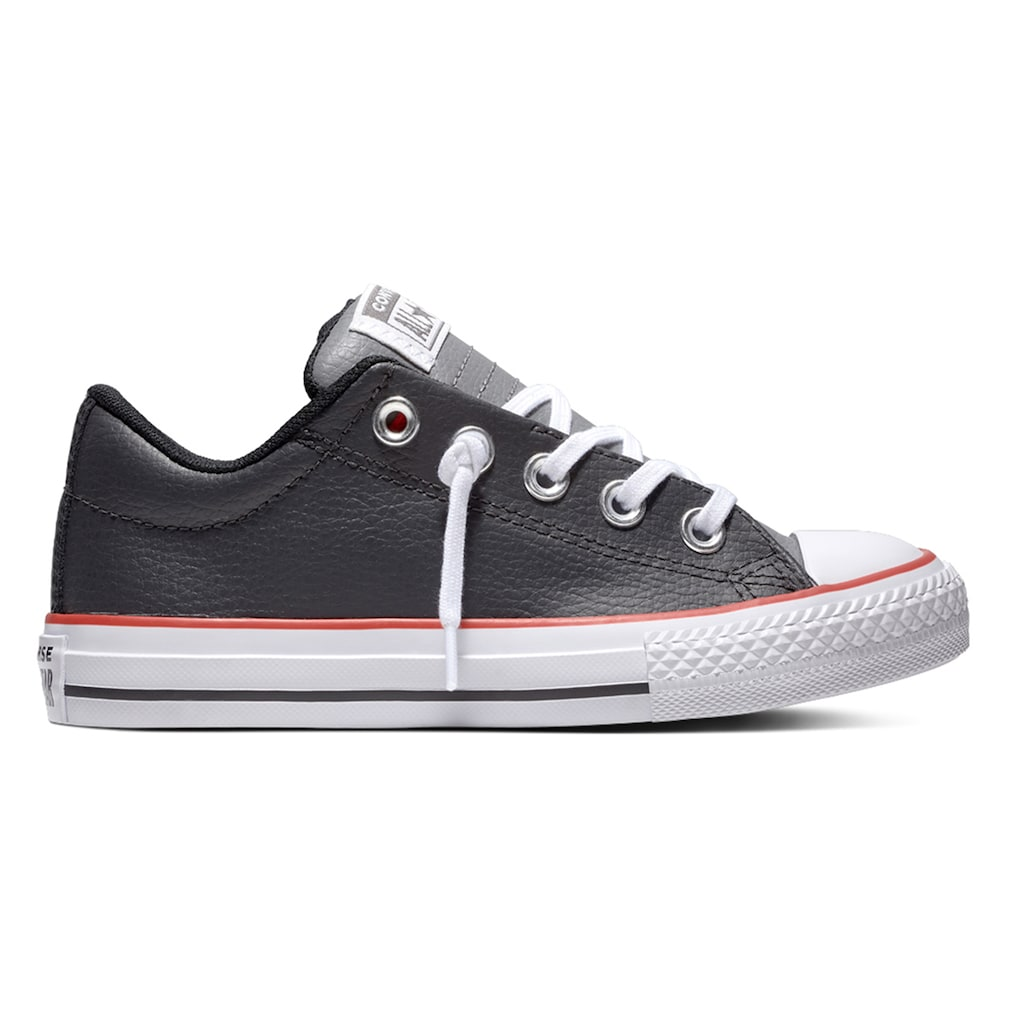 Boys  Converse Chuck Taylor All Star Street Slip Low Leather Sneakers c2a29f8ed