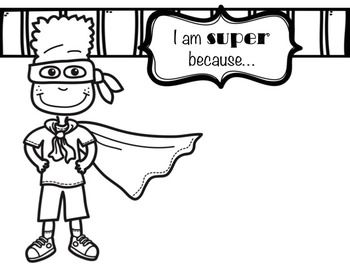 Classroom Guidance Lesson: Self-Respect: Be Your Own Super