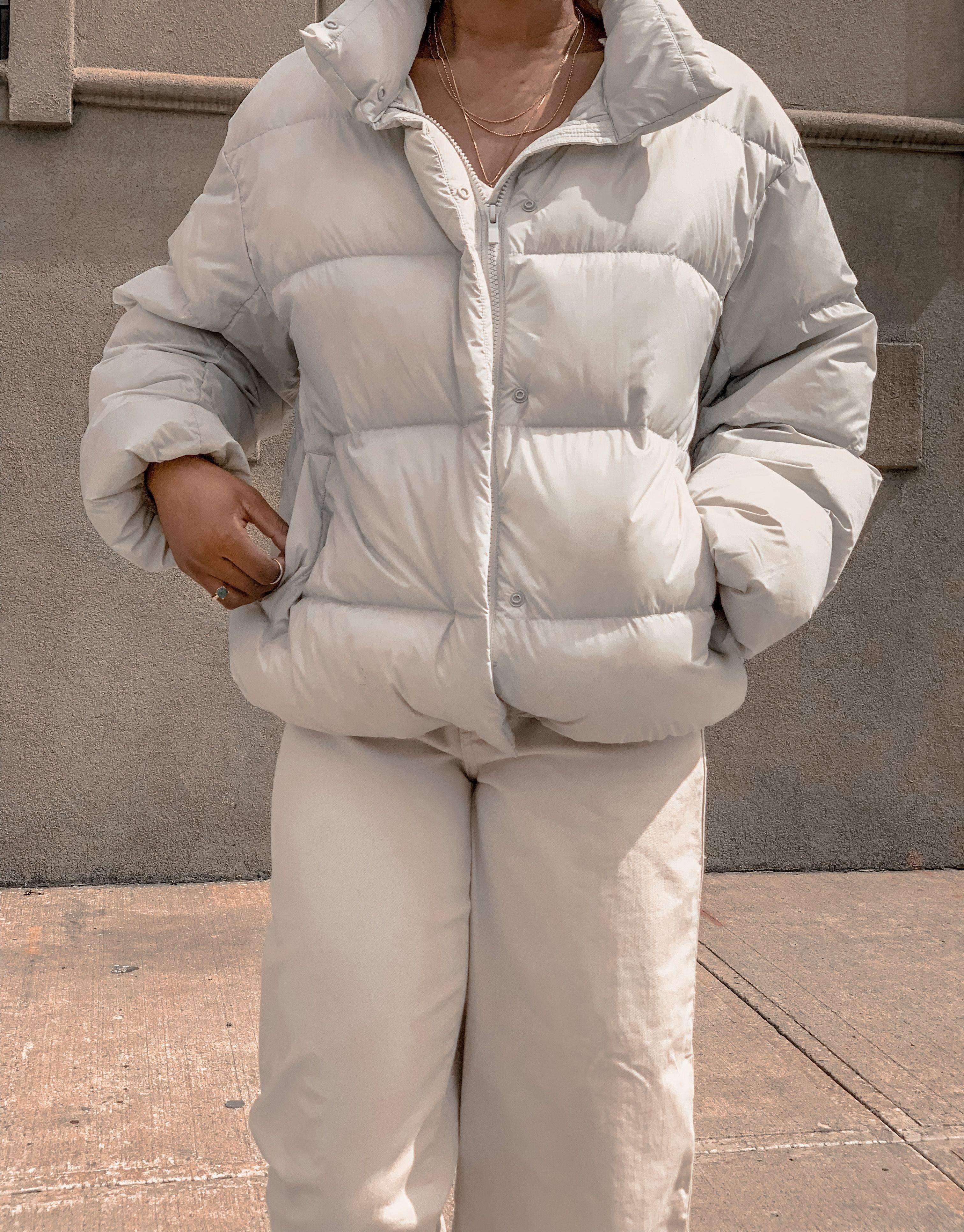 Uniqlo Cocoon Puffer Jacket [ 3863 x 3024 Pixel ]