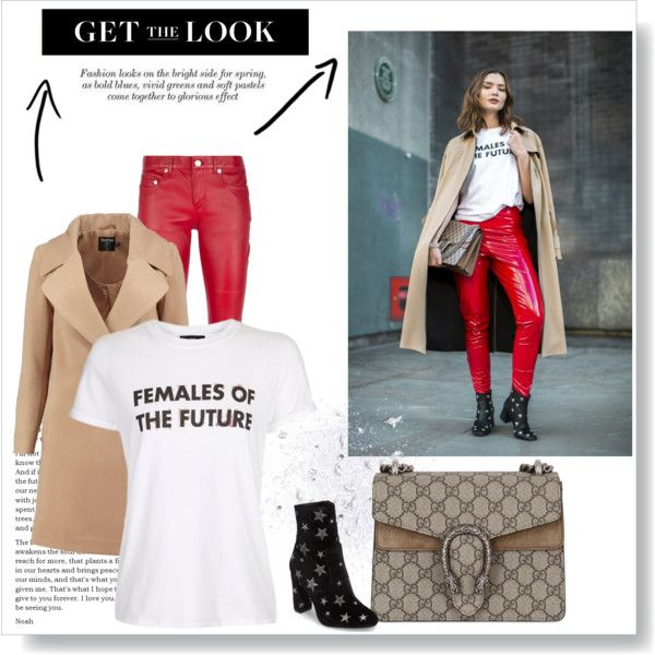 Untitled #302 by msbeaunda on Polyvore featuring moda, Topshop, Boohoo, Yves Saint Laurent, Steve Madden and Gucci