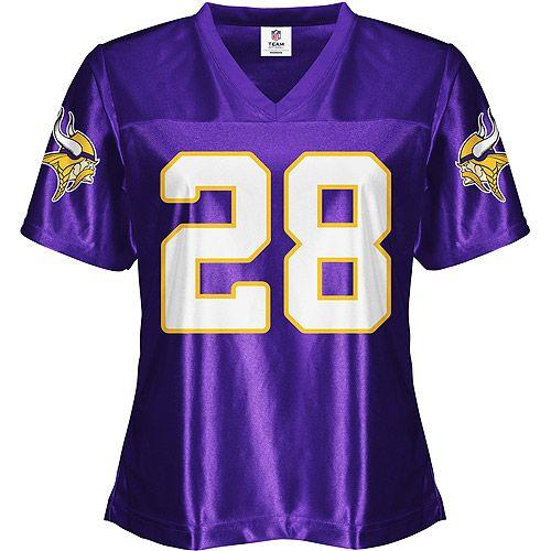 size 40 9cfb7 2d9fb NFL - Women's Minnesota Vikings #28 Adrian Peterson Jersey ...