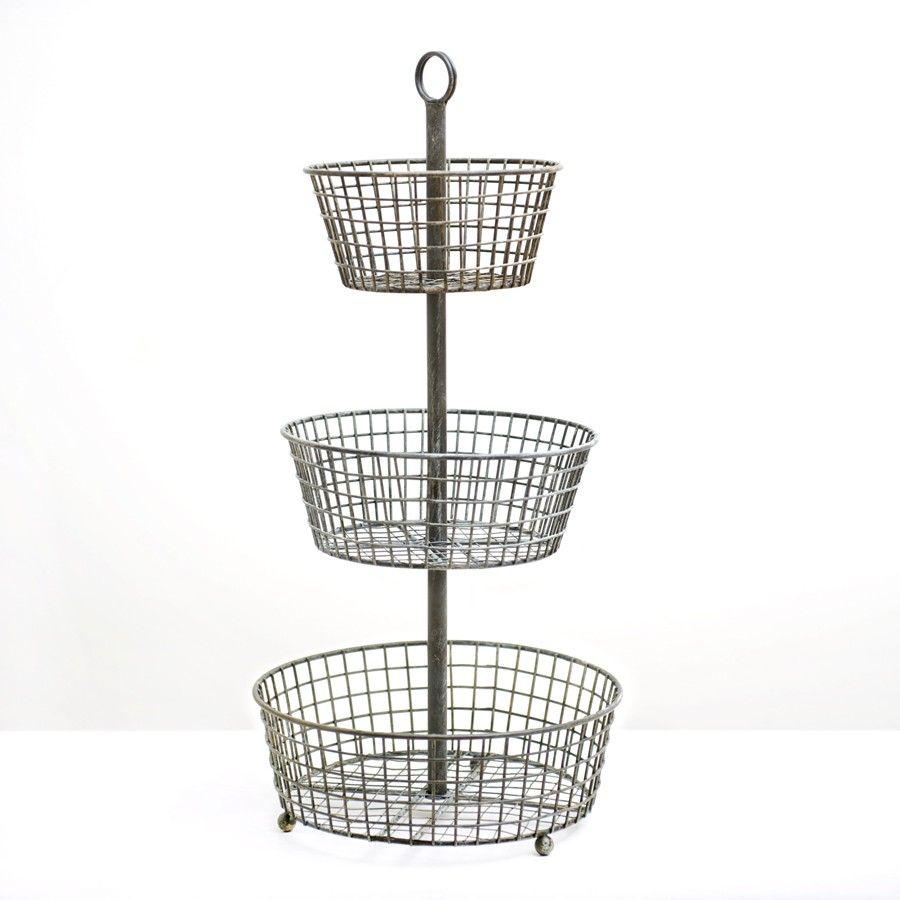 Amazing $79   3 Tier Wire Basket
