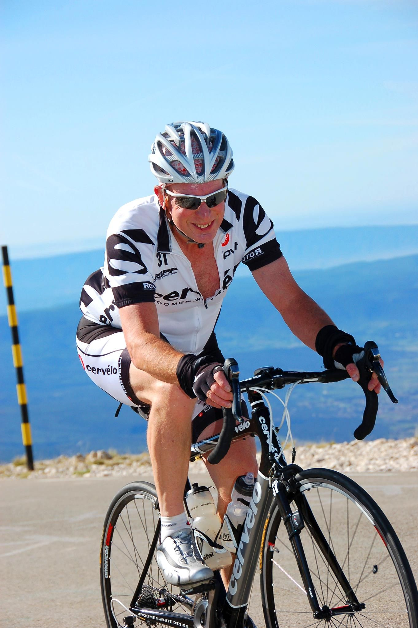 Me, climbing Ventoux 2012. Great!