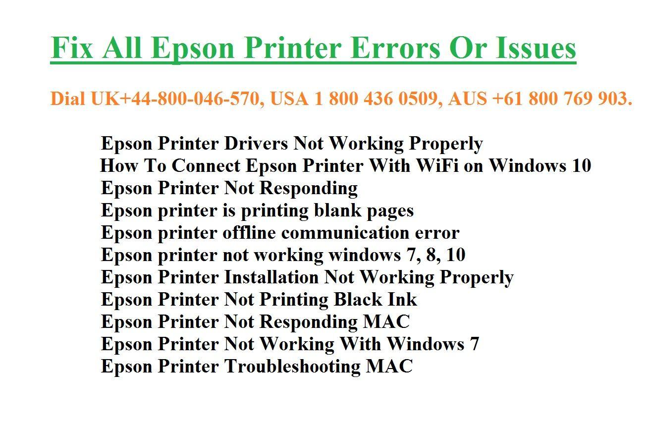 Epson Printer Support CO UK (epsonprintersupportnumbercouk