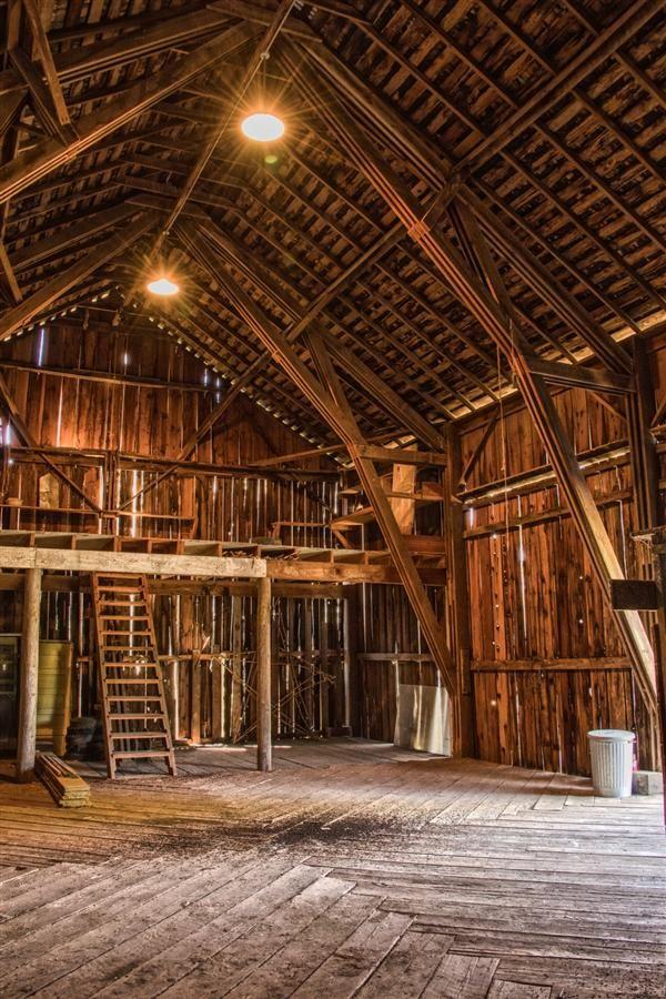 Barn Interior the century-old barn … | pinteres…