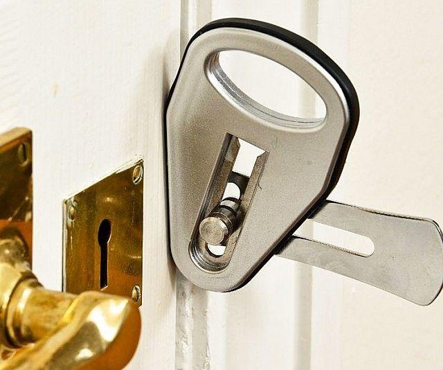 Super Strong Portable Door Lock Home Security Systems Home Security Security Cameras For Home