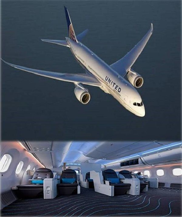 #United To Operate B787-9 One-off Service On Heathrow