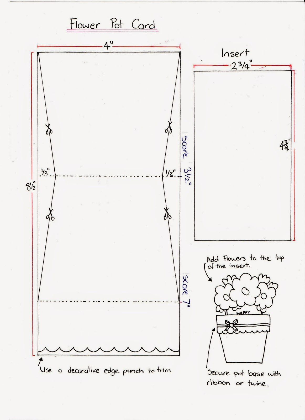 Stampin' it up with Belinda: Flower Pot Cards
