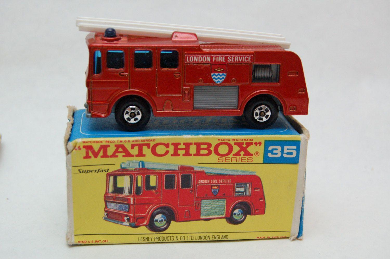 No.35 Merriweather Fire Engine Superfast w/Original Box by