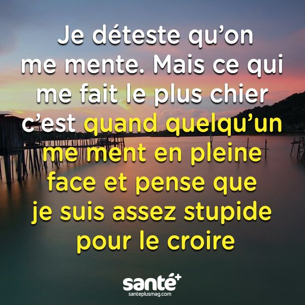 Citation Mensonge Amour Forumhulp