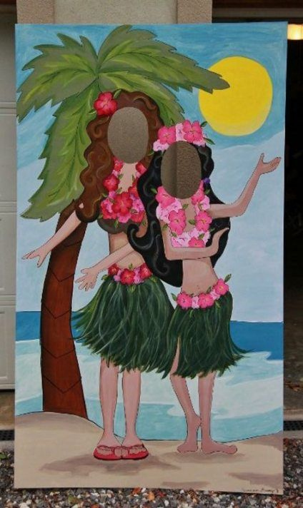 27  Ideas For Birthday Party Beach Photo Booths #tropicalbirthdayparty