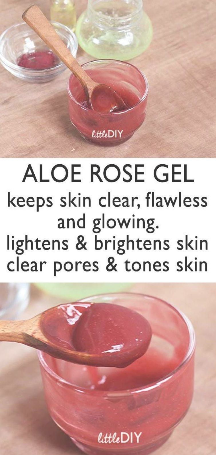 Aloe Rose Skin Soothing Gel Little Diy Diy Lip Balm Recipes Diy Aromatherapy Watermelon Lip Scrub