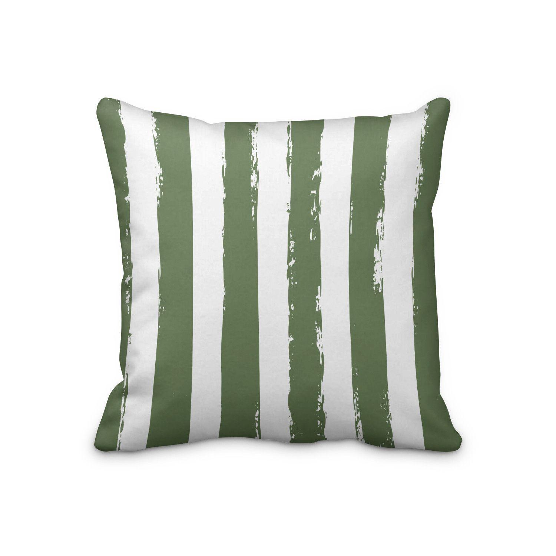 Limoncello Striped Throw Pillows