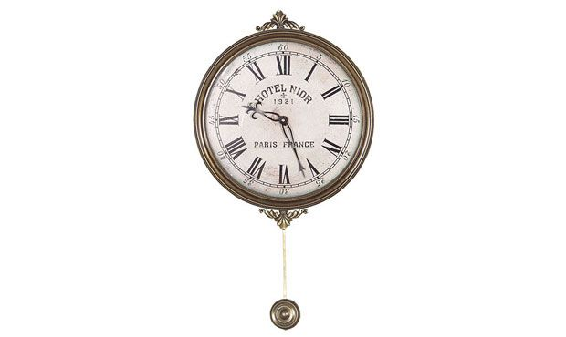 Today You Will Find Many Varieties Of Decorative Wall Clocks That You Can Hang On Your Living Room Wall Pendulum Wall Clock Clock Wall Clock
