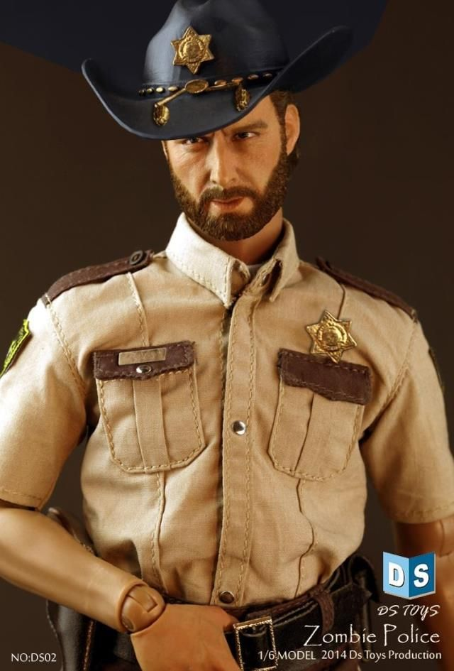"""1//6 Scale Police Hat Model for 12/"""" Action Figure"""
