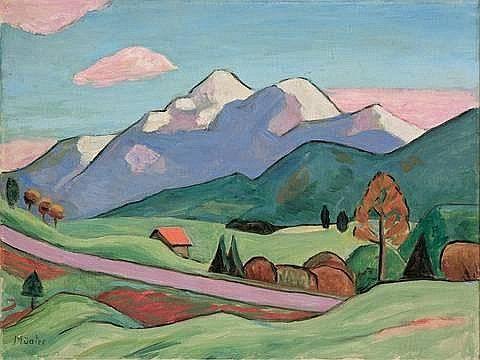 Gabriele Münter Murnau