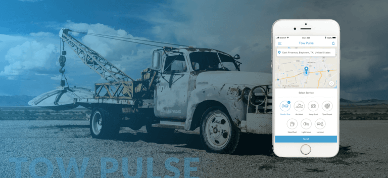 Tow truck booking application Roadside assistance