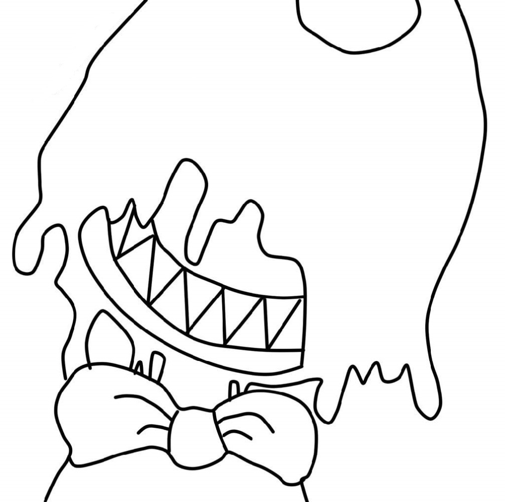 Bendy Coloring Pages For Good People Educative Printable Coloring Pages Coloring Pages For Kids Free Coloring Pages