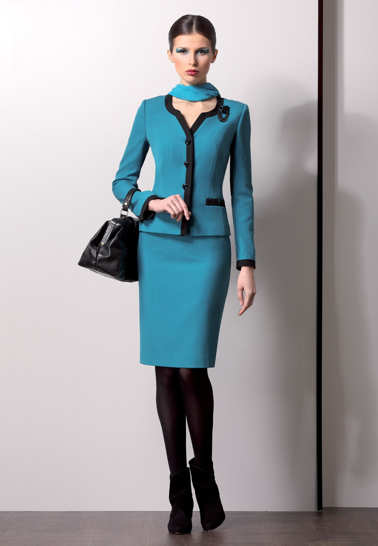 Skirt suit ♥✤ | Keep the Glamour | BeStayBeautiful | CAPPOTTO ...