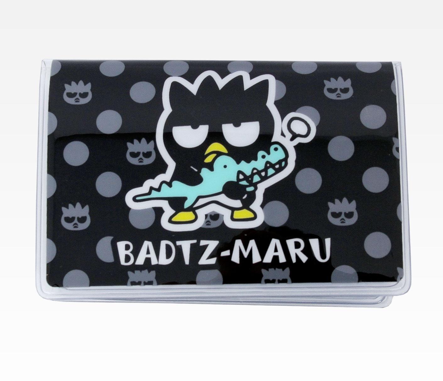 Hello Kitty Tablet Pillow: Badtz-Maru Vinyl ID Card Case: Alligator
