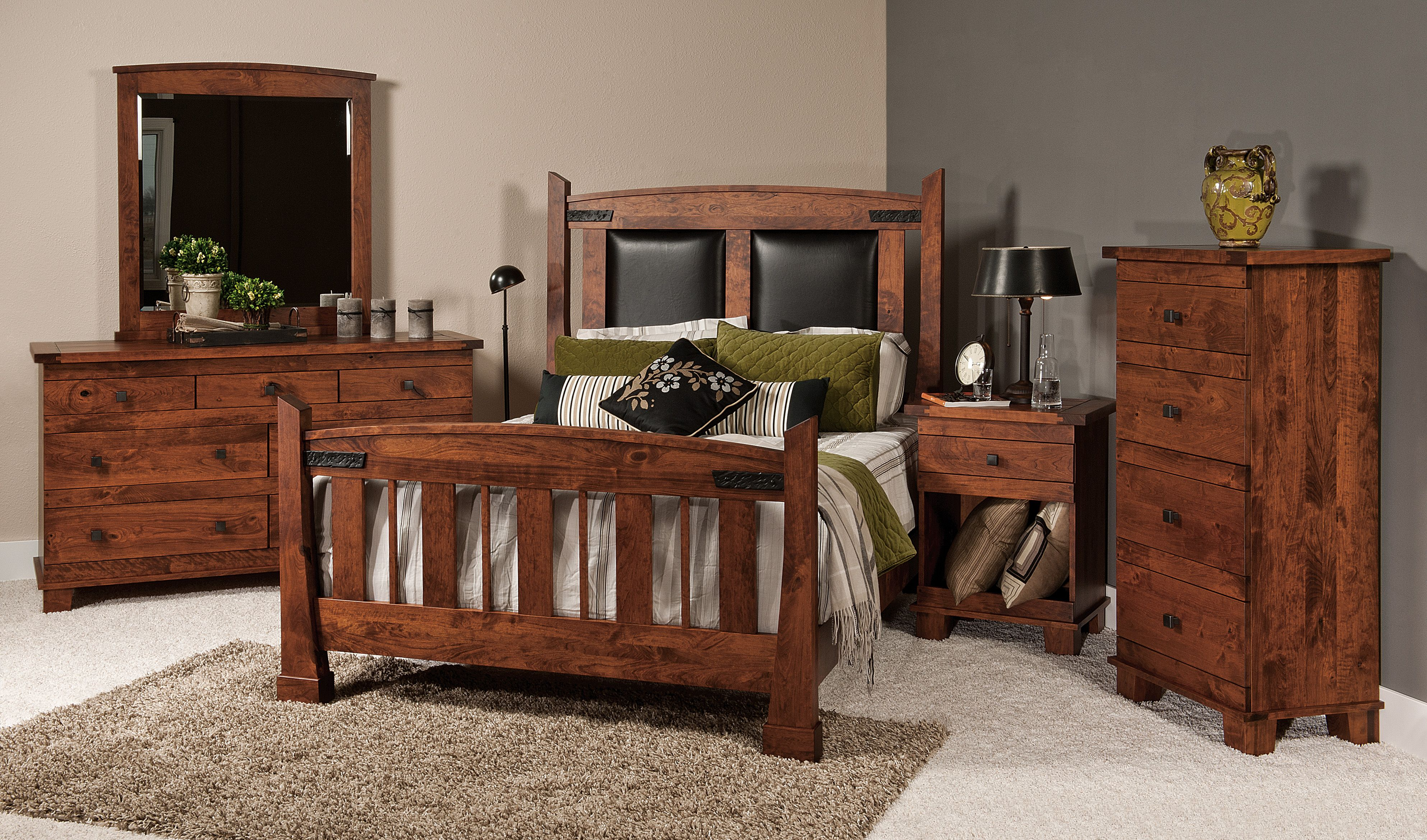 Larado collection bedroom furniture pinterest amish crafts