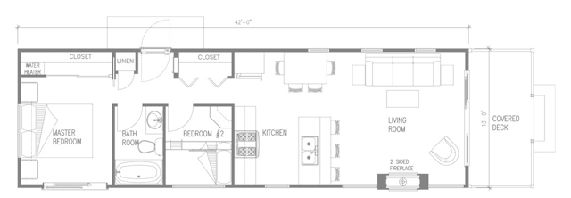 The Chapman 540 Sq Ft