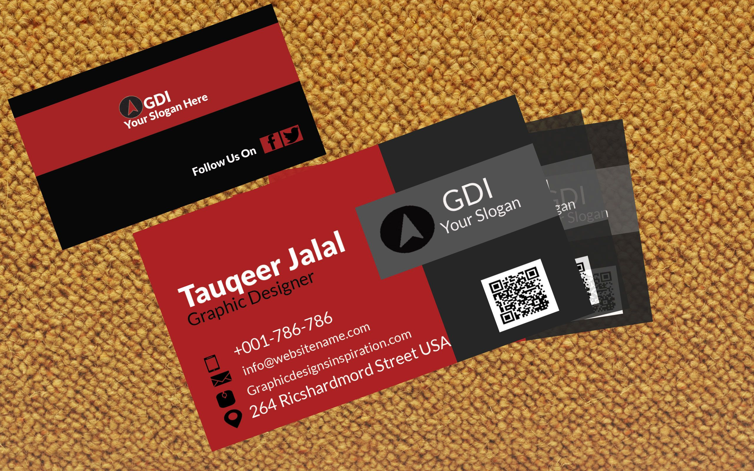 Freebie - Free Business Card Design (PSD) | Fresh Freebie ...