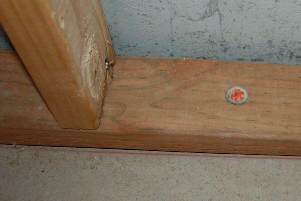Basement Wall Chalk Line Framing Framing Basement Walls Basement Basement Inspiration