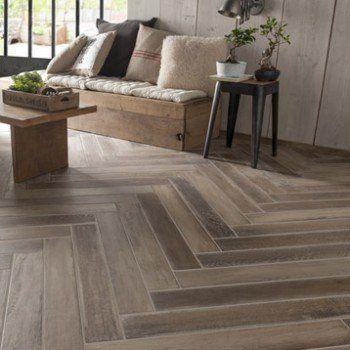 carrelage sol et mur brun effet bois lousiane l10 x l70 cm - Sol Tarkett Leroy Merlin
